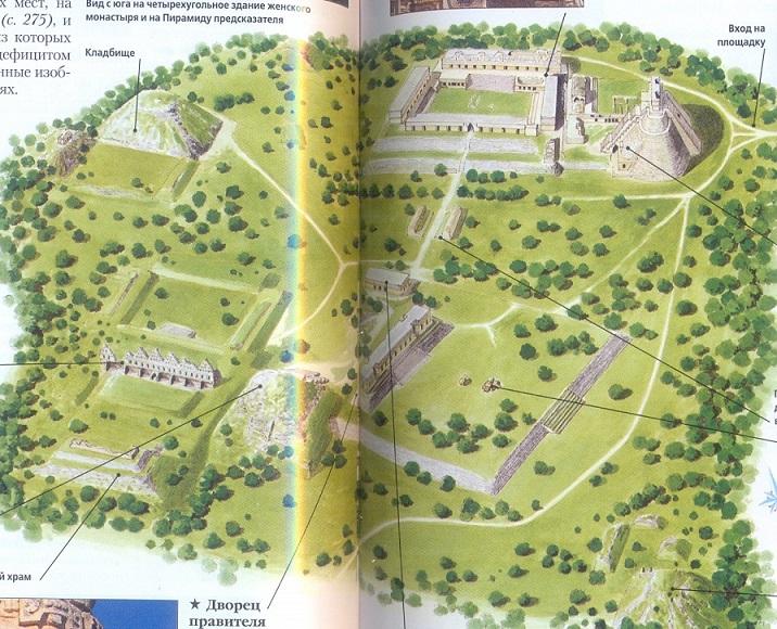 Ушмаль - древний город майя в Мексике