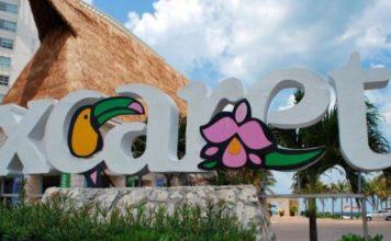 Парк Шкарет, Канкун, Мексика