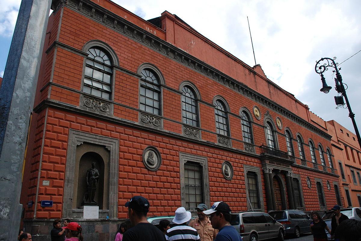 Академия Сан-Карлос в Мехико