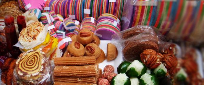 Шоколадные сувениры из Мексики