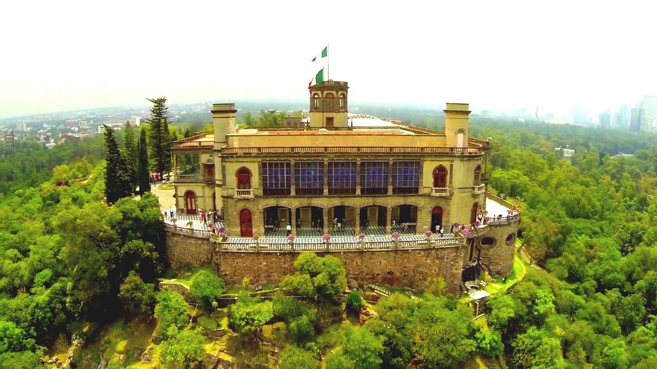 Дворец Чапультепек в Мехико