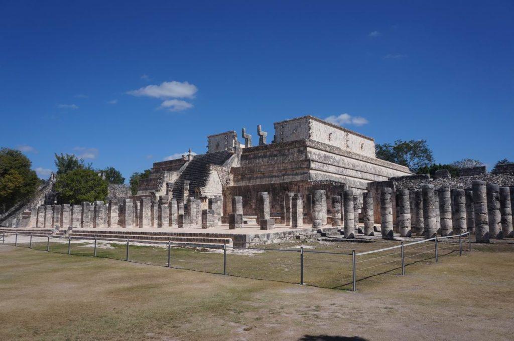 Храм Воинов в Чичен-Ице