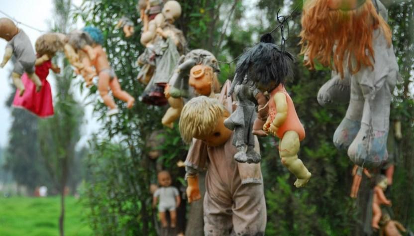 Остров мертвых кукол в Мехико