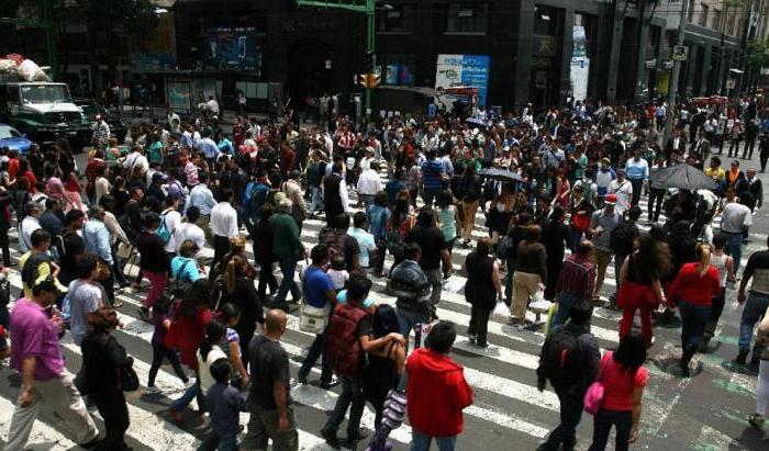 Численность населения и экономика Мехико