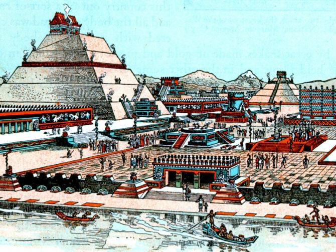 Древний город теночтитлан