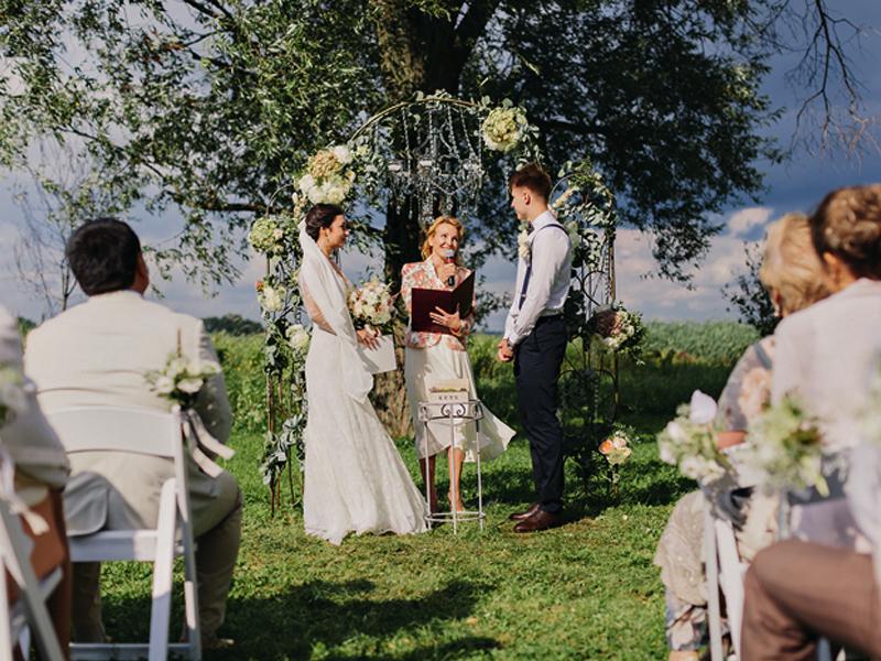 Бракосочетание в эко парке