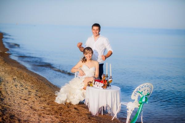 Церемония на диком пляже