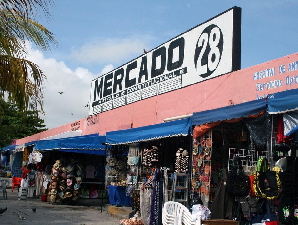 Рынок на Mercado 28