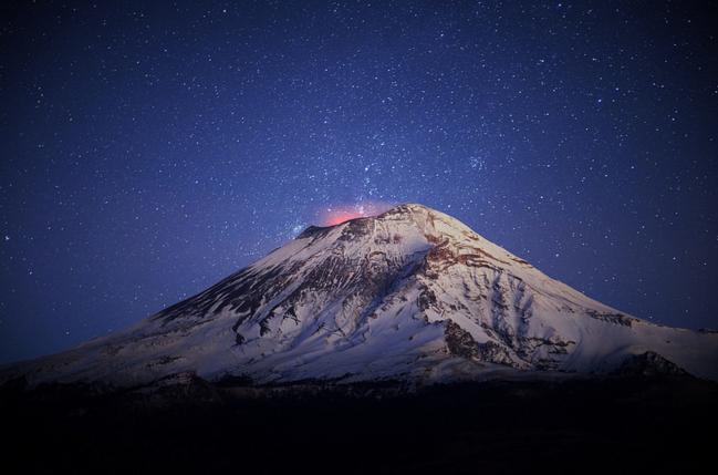 Вулкан Попокатепетль