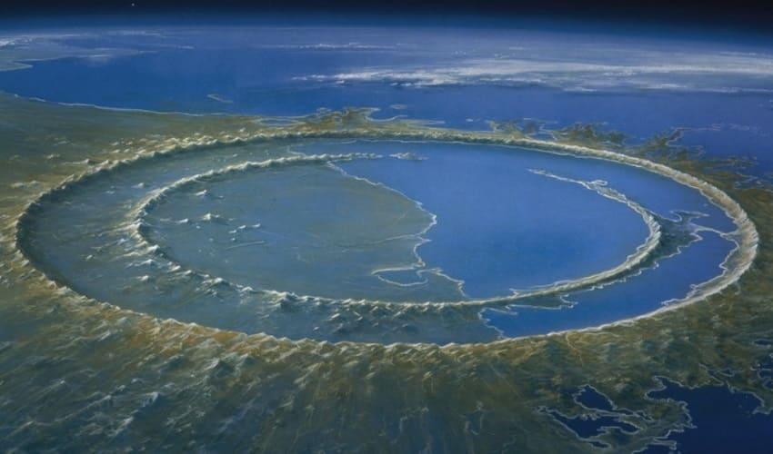 Падение астероида