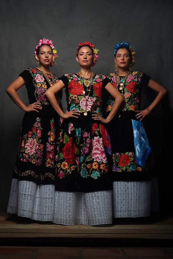Мексиканская женская одежда