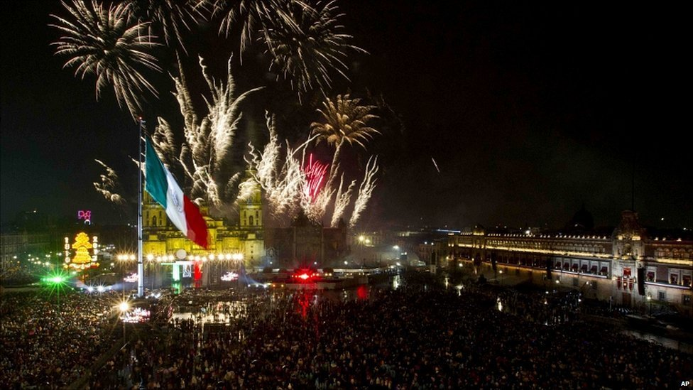 Новый год в Мексике