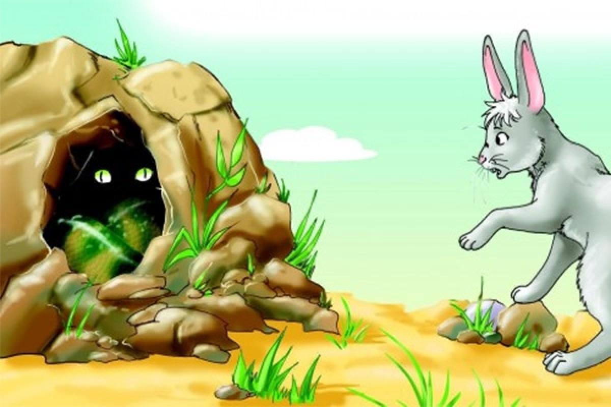 Воспитанный кролик